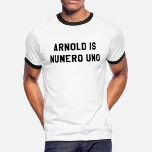 NWOT Arnold Is Numero Uno T-Shirt